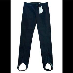 Helmut Lang Pull On Stirrup Skinny Jeans